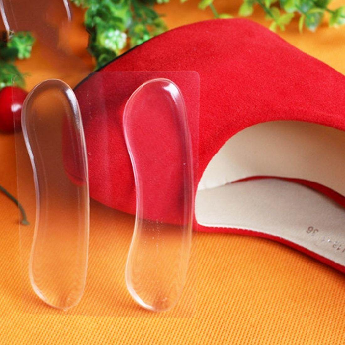 Invisible Silicone Shoe Insole Inserts Pad Cushion Foot Care Heel Grips Liner Sticker - intl