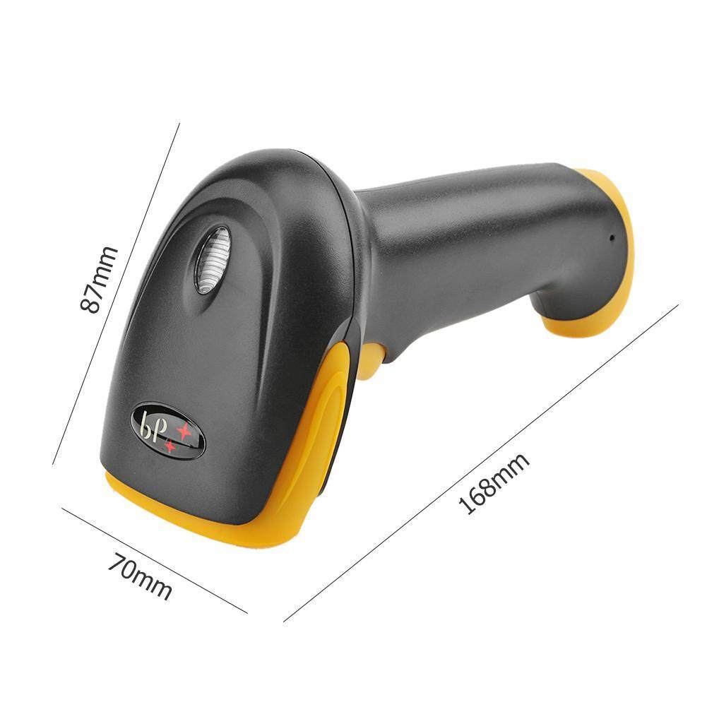 Auto Induction Laser Barcode Scanner Wired 1D Bar Code Reader Scanning(Black)(Black)