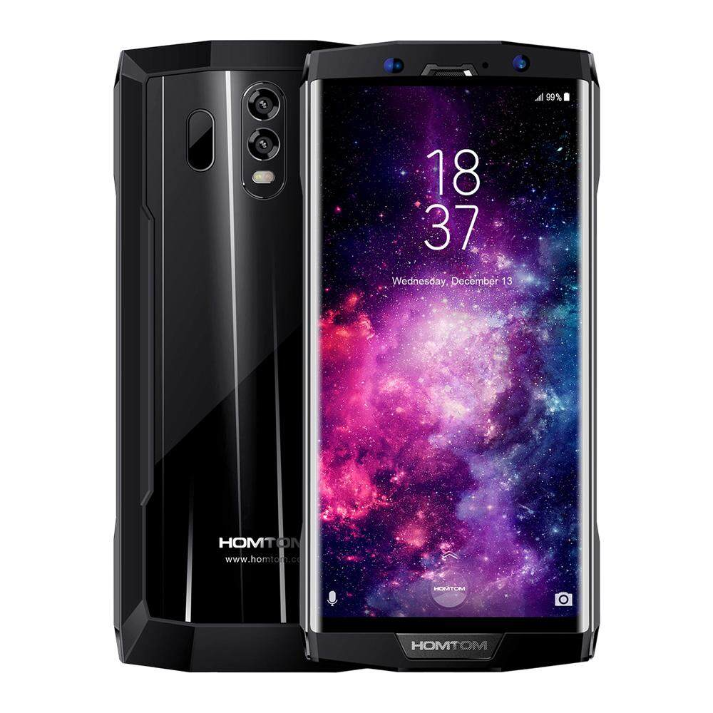 Flash Deal HOMTOM HT70 Mobile Phone 4GB 64GB 6-Inch Bezel-less 18:9 1440*720 Pixels HD+ Display MTK6750T Octa-core 1.5GHz 13MP Front 16MP+5MP Dual Rear Cameras Android 7.0 Fingerprint Identification - intl