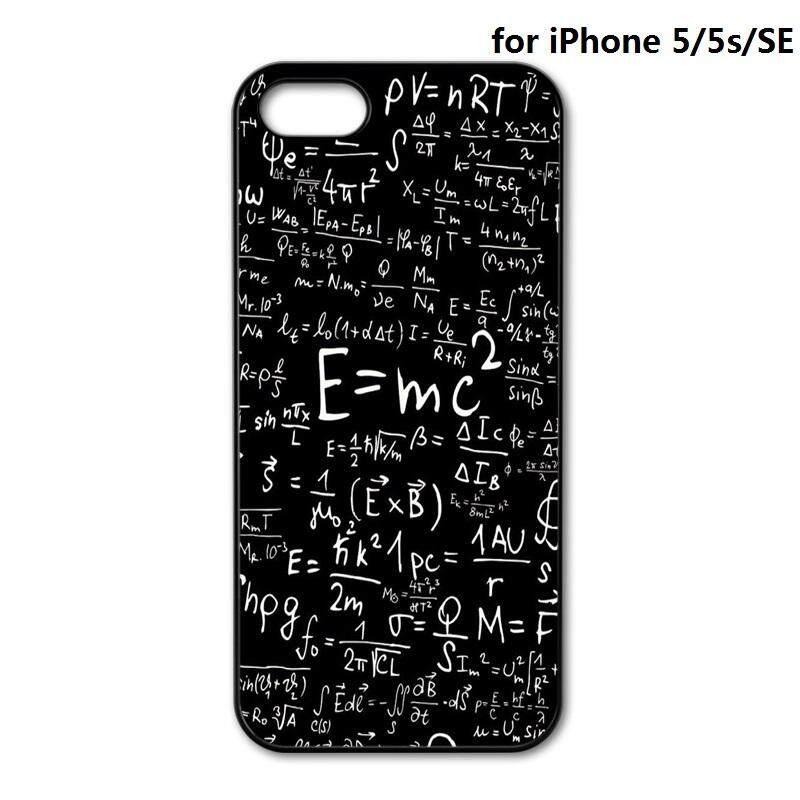 Matematika Matematika Formula Perlindungan Telepon Seluler Penutup Belakang Case untuk iPhone 4 4 S 5 5 S SE 5C 6 6 S 7 8 Plus X 10 Telepon Case S-Intl