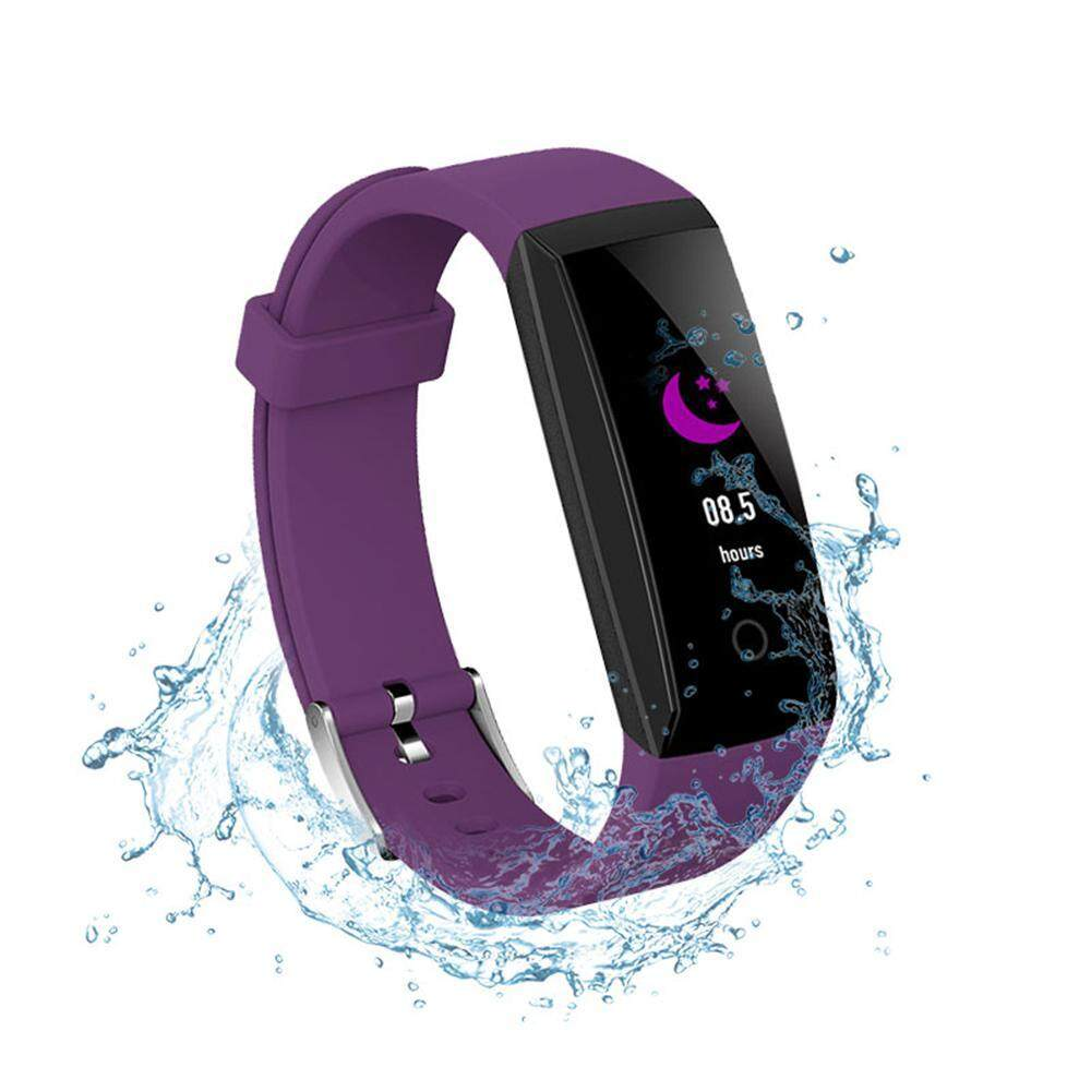 niceEshop W8 Smart Wristbands IP67 HD Color Display Waterproof Stopwatch Heart Rate Monitor Smartband Fitness Tracker Smart Bracelet   สายรัดข้อมือเพื่อสุขภาพ อุปกรณ์ไอทีสวมใส่