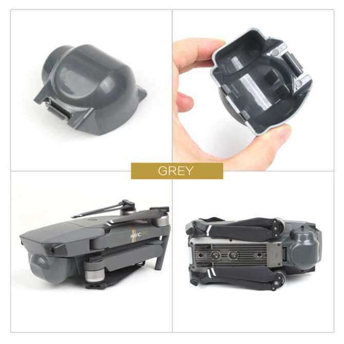 ... huyia Durable Scratch-proof Gimbal Guard Camera Lens Protector Dust-proof Sun Hood Cover ...