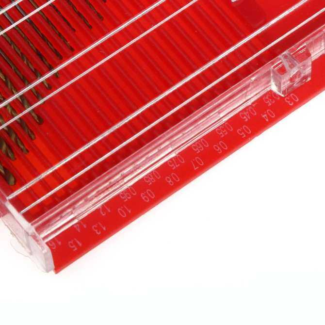 (Giao hàng miễn phí cho cả ba chiếc đến Hà Nội)20 pcs Mini HSS High Speed Steel Twist Drill Bit Set 0.3mm-1.6mm Tool Box - intl (Antique White)