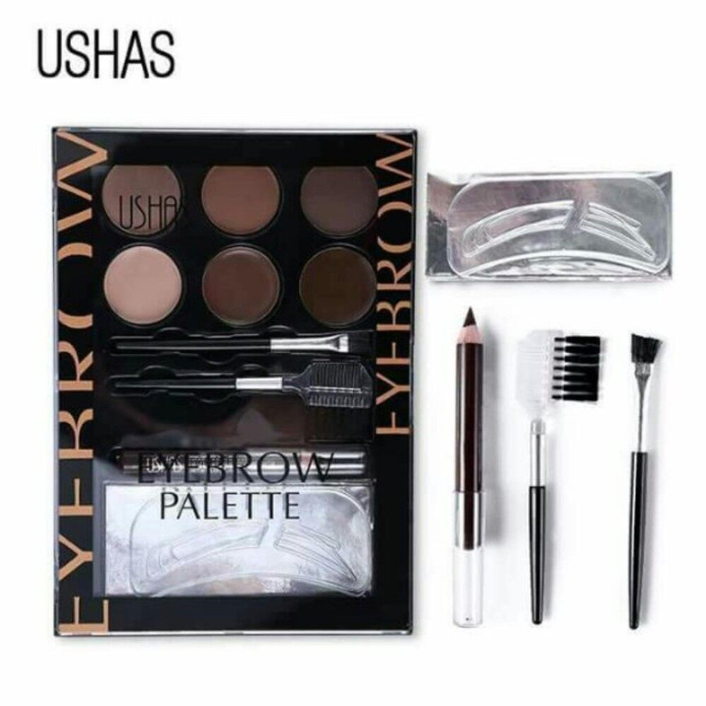 1 set X [BEST KIT] Ushas Eyebrow Palette Kit