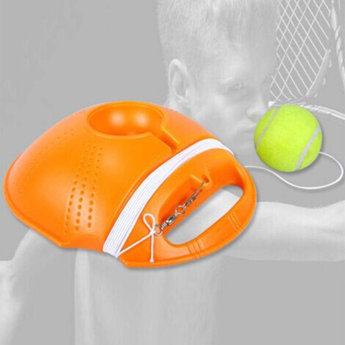VEECOME Portable Tennis Trainer Professional Tennis Base Strong Dispenser Durable