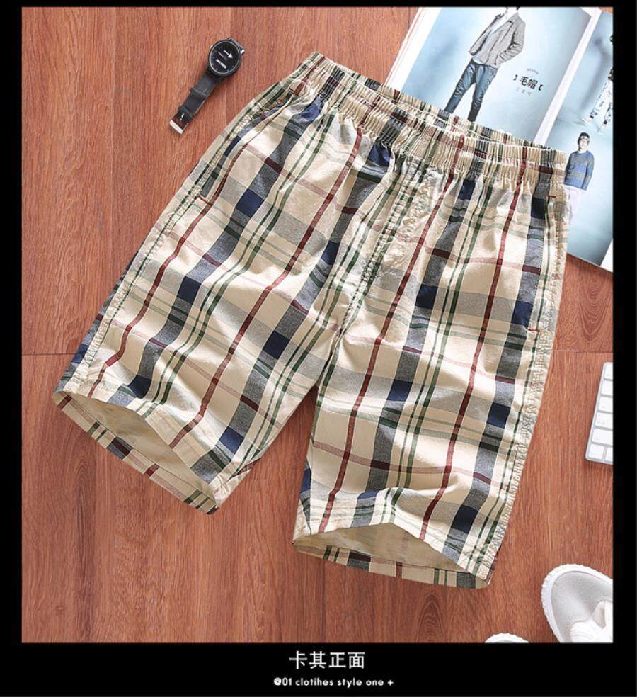 Carterstory Shorts Men's Summer Cotton Sports 5 Five Points Pants Seven Points Casual Pants Men's Loose Beach Pants Big Pants Tide.