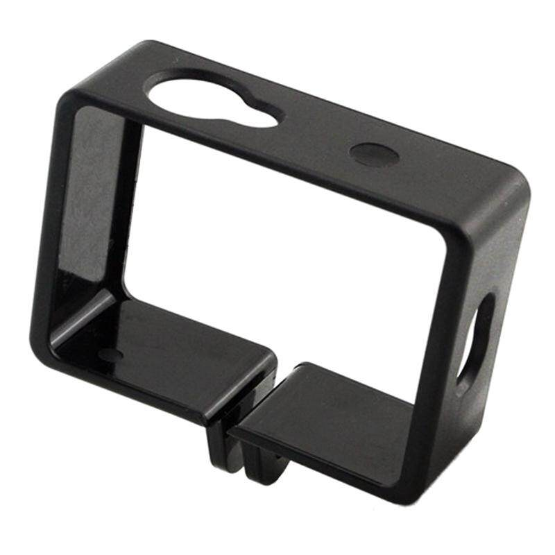 Free Shipping Protective Housing Side Border Frame Case for Xiaomi Yi Xiaoyi Action Sport Camera Accessories Black