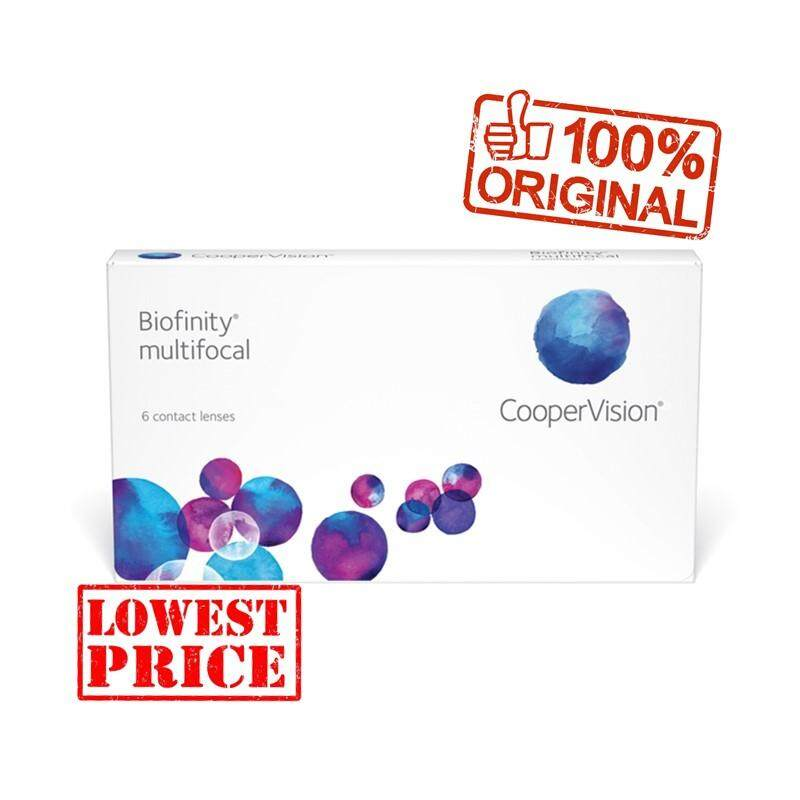 BIOFINITY MULTIFOCAL (1box 3pcs free 1 pcs), cooper vision silicone hydrogel contact lenses
