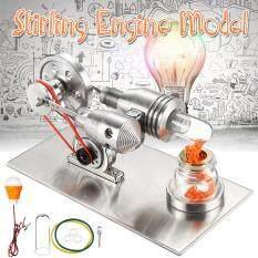 Mô Hình Động Cơ Stirling Mini, Máy Phát Điện Dùng Trong Thí Nghiệm Vật Lý