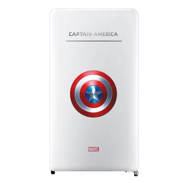 [Limited Edition] DAEWOO Korea Marvel Series FN-M125CA(Captain America) 125L Classic 1 Door Fridge/Refrigerator