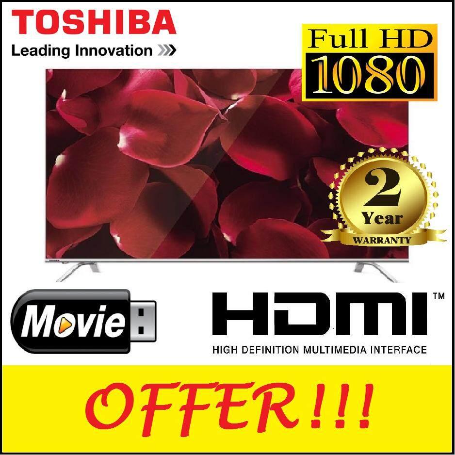 "Toshiba 55"" LED TV DVBT2 [2 Years Warranty]"