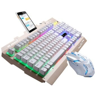 Luminous wired game keyboard and mouse set mechanical keyboard feel