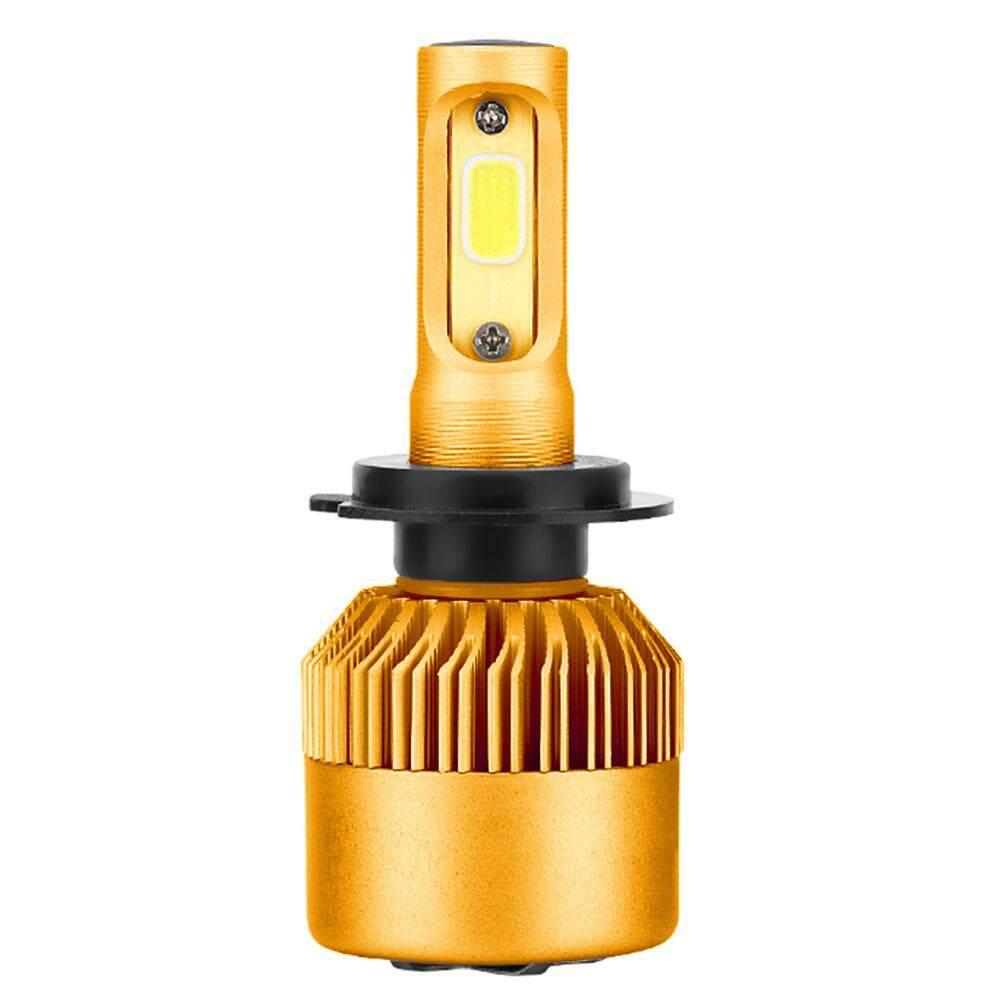 LED Lampu Kabut Lampu Depan Super Cerah H7 COB Kendaraan Mobil Gaya