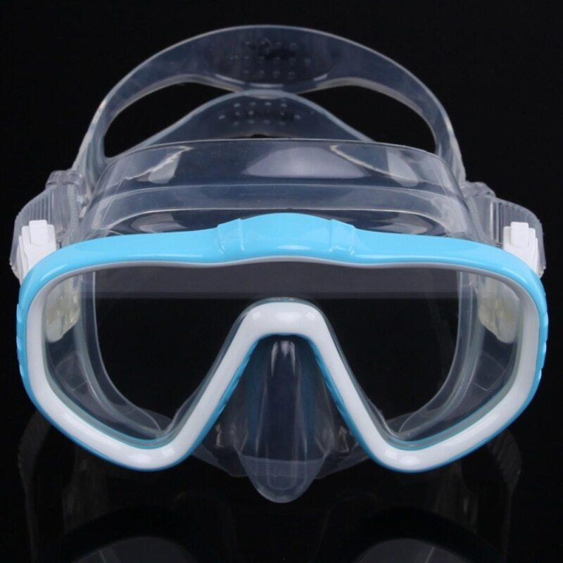 Goodlike Merek Whale Masker Selam Profesional Kacamata Daya Pandang Luas Peralatan Olah Raga Air dengan Anti