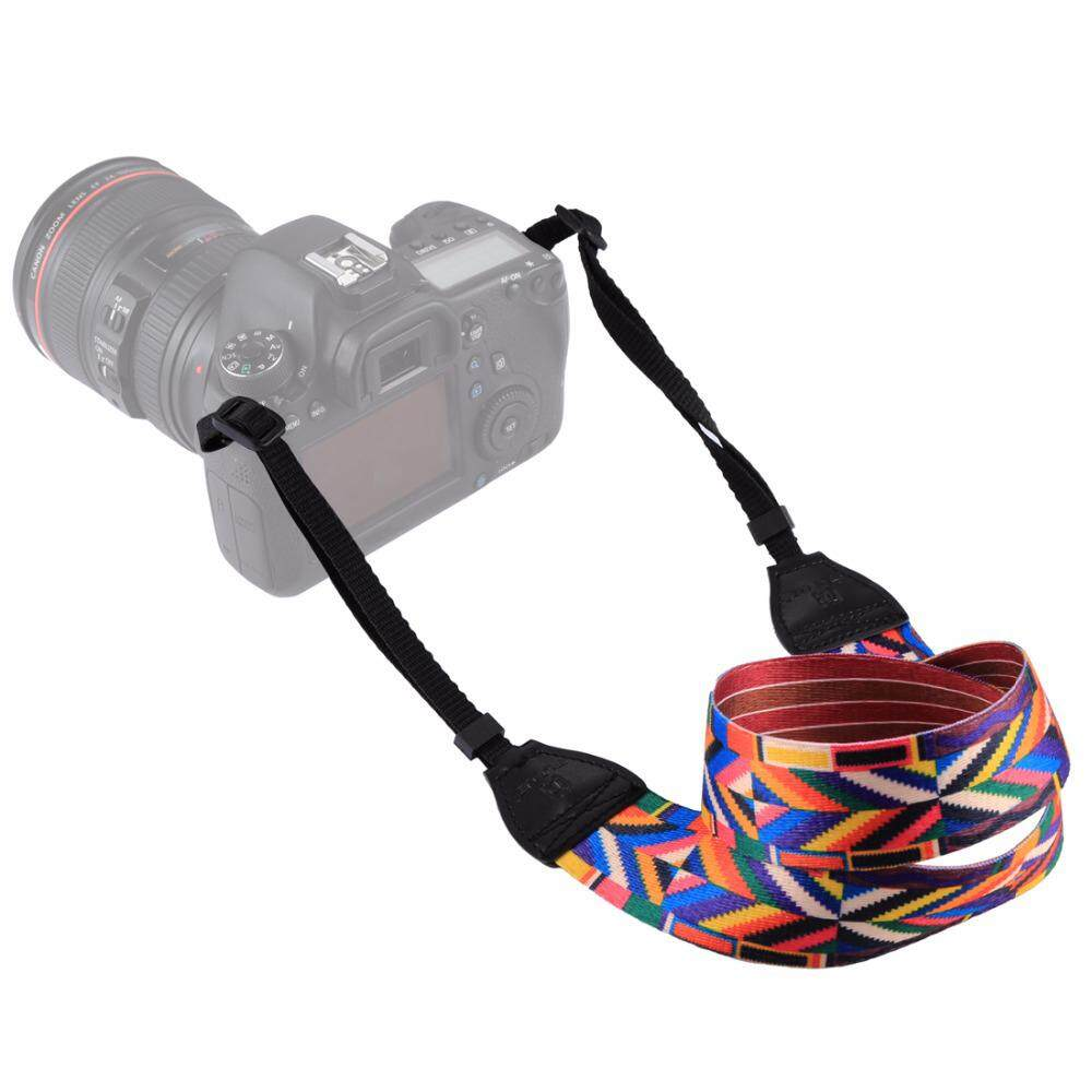 PULUZ Retro Ethnic Style Shoulder Neck Strap Camera Strap Belt for Sony ,Canon ,SLR / DSLR Cameras(Colorful)