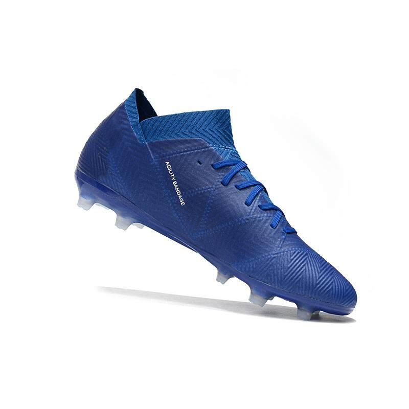 9102d41bcb6 2018 New High Ankle Football Boots Superfly Original Knitted FG Nail  Nemeziz Football Shoes Adulto Men s
