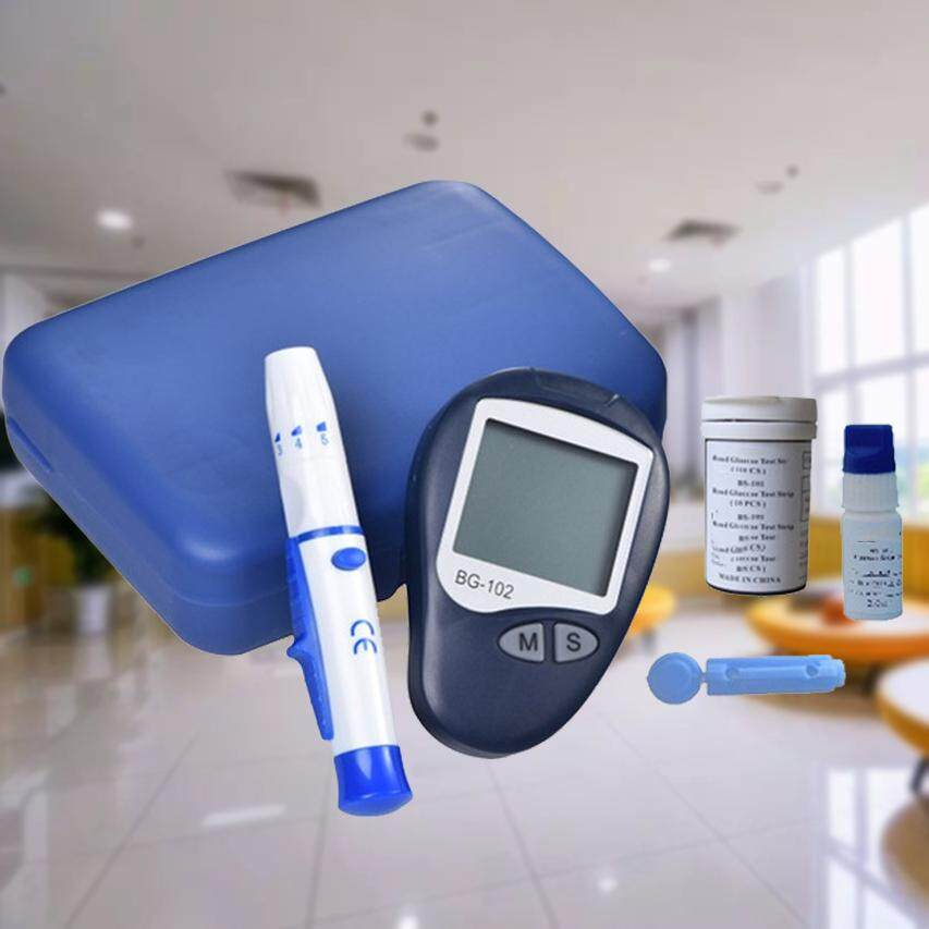 Blood Glucose Monitor System With 25s Strips And 25s Lancet BG-102