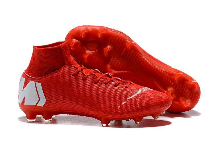 10e0752655161 2019 New Football Boots Superfly Original Knit Men s Soccer Shoes XII 12  CR7 PRO FG Cleats