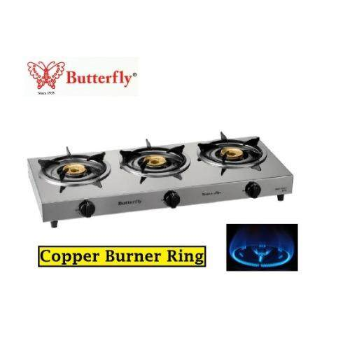 Erfly Triple Gas Stove Bgc 3012