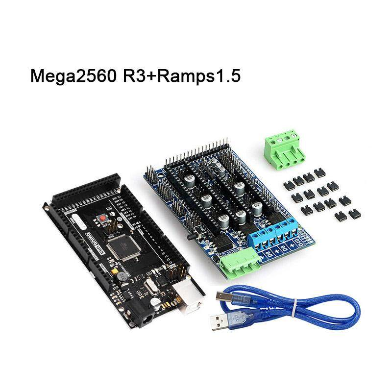Bảng Giá YBC Mega 2560 R3 Motherboard + Ramps1.5 with USB Cable Kit Compatible for Arduino 3D Printer Tại Your BestChoice