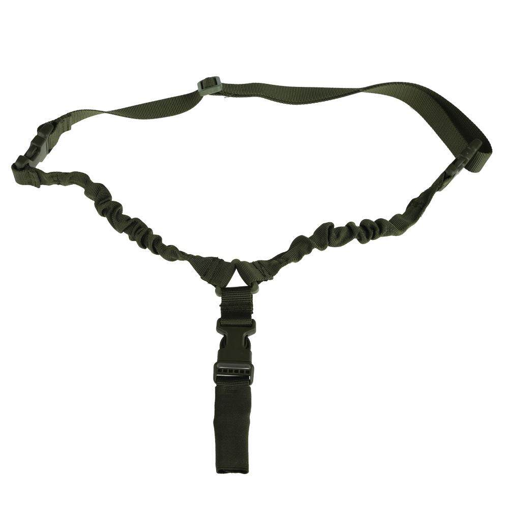 Newlifestyle Single Point Tactical Military Bungee Sling With Quick Release Buckle Green(Black)