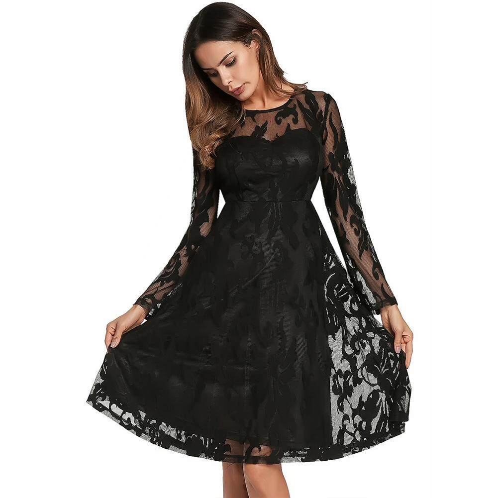 Border Women's Spring Summer New Lace Dress Big Brand Skirt New Style In Spring And Summer New Pattern Female Clothing