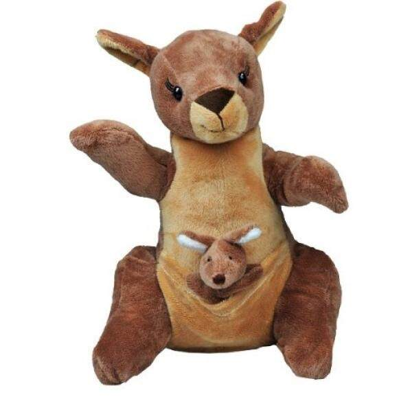 Recordable Mother With Joey Kangaroo With 30 Second Digital Recorder