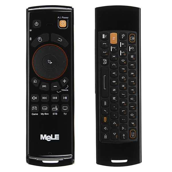 2.4GHz Fly Air Mouse Mele F10 Deluxe Wireless Keyboard Remote Control