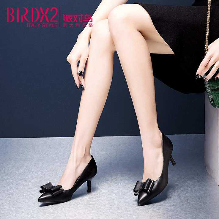 Gentleman/Lady - 5cm spring New style pointed pointed pointed Pumps  - Attractive Design e6cca4