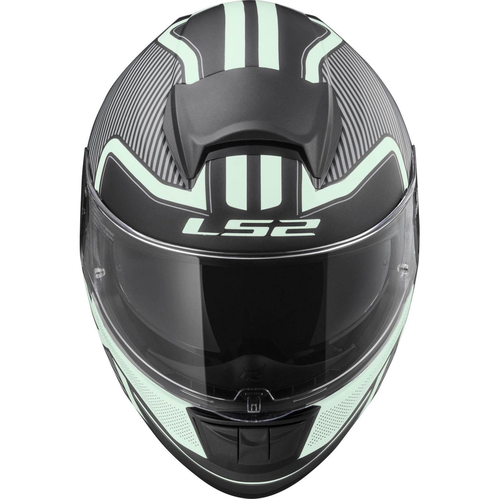 3/X L LS2/helmet moto FF397/Vector FT2/Orion Matt Black