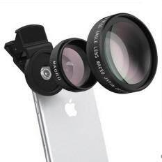 Ống Kính 2 Trong 1 HD 37Mm, 45x 49UV, Góc Siêu Rộng + 12,5x Macro Chuyên Nghiệp Cho Điện Thoại Di Động Và Ống Kính Máy Ảnh Samsung HTC LG