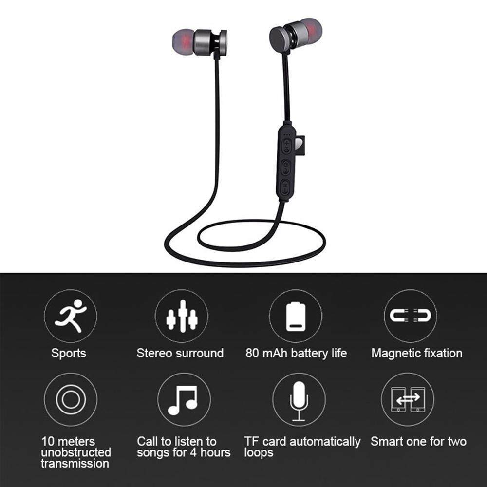 โปรโมชั่นลดราคา หูฟัง EsoGoal EsoGoal บลูทูธไร้สาย 4.1 หูฟังสเตอริโอหูโทรศัพท์กับไมค์ กับ กล่องกรณี Wireless Bluetooth Earphone Heaphone กับ กล่องกรณี(Red) ของดีต้องบอกต่อ