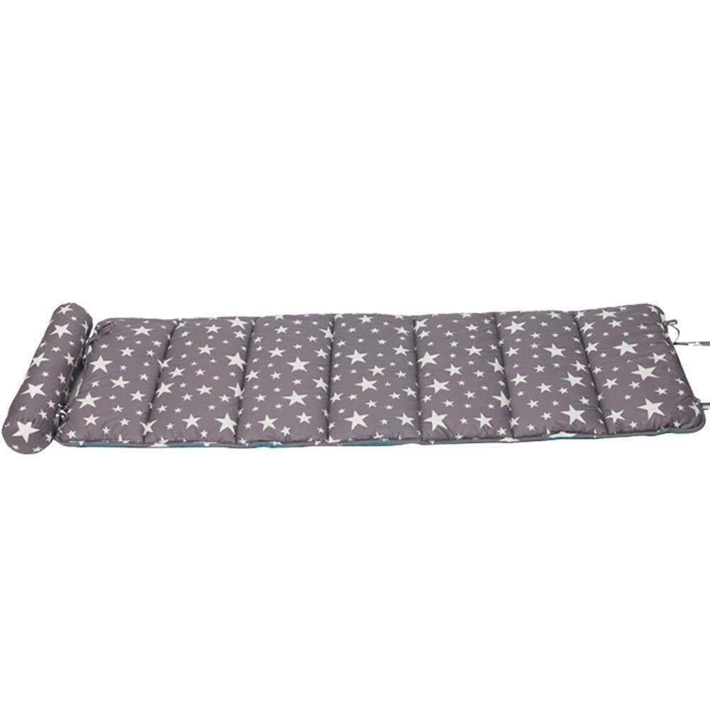 TINTON LIFE Soft Cotton Children or Adult Office Sleeping Mat Nap Mat Folding Mattress Ultra with Removable Pillow
