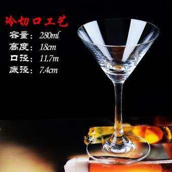 ความคิดสร้างสรรค์ค็อกเทลชุดแก้วยอดนิยมเอกลักษณ์คริสตัลแก้วไวน์กุณโฑแก้วค็อกเทลถ้วยมาร์ตินี่