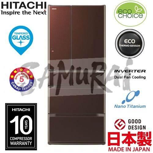 NORMAL DAY OFFER HITACHI 6 MULTI DOOR INVERTER FRIDGE MADE IN JAPAN 657L RE6200M