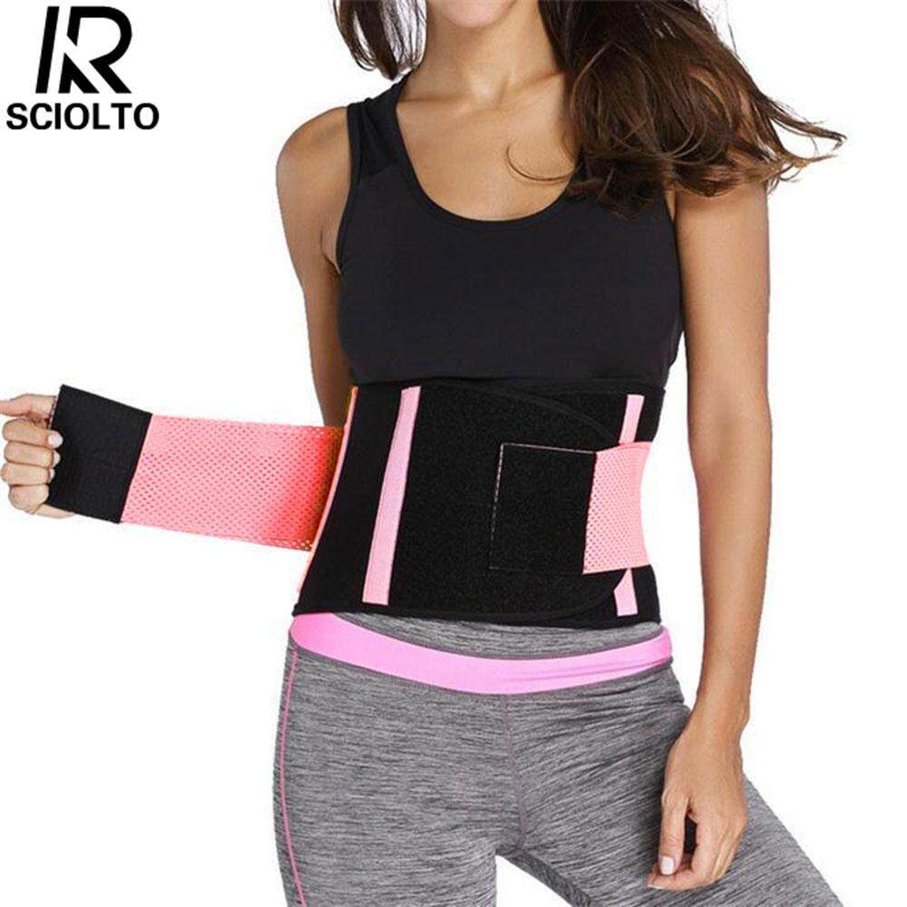 (Free Shipping for WM - Klang Valley,WM - Non Klang Valley,EM - Sabah)SCIOLTO SPORTS Waist Trainer Control Corset Shaper Body Underbust Tummy Brace Trimmer Shapewear