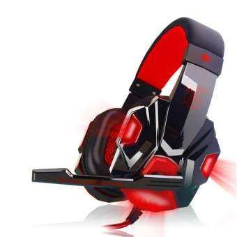 PLEXTONE PC780 ไฟ LED ตัดเสียงรบกวนหูฟังเล่นเกม HD MIC หูฟังสำหรับ PC แลปท็อปโทรศัพท์-