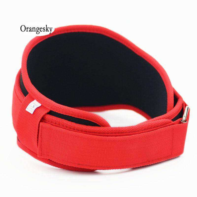 Orangesky Gym Weight Lifting Belt Nylon Eva Crossfit Musculation Squat Belts Fitness Weightlifting Training Lower Back Support By Better Me.