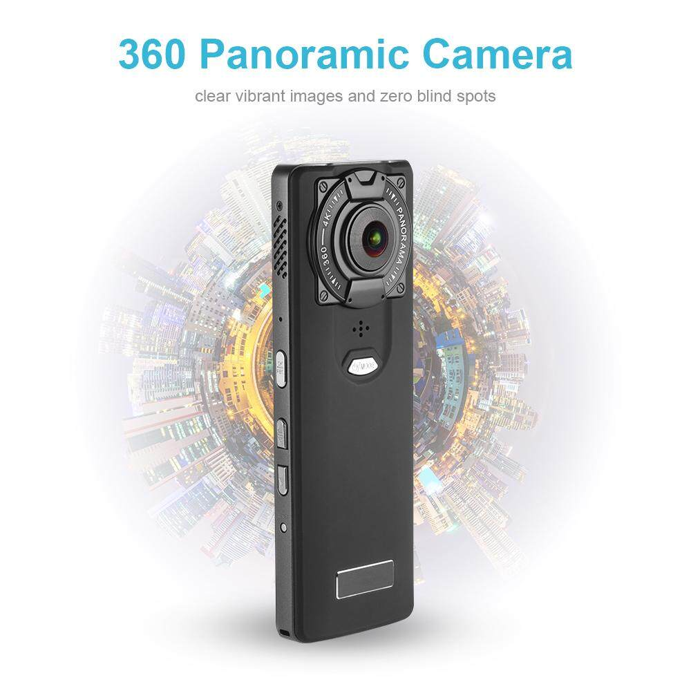 WiFi Handheld 220 Dual Lens Fisheye 4K Video 360 Degree Panoramic Camera LF862