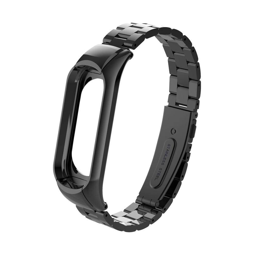 For Xiaomi Mi Band 3 Fashion Stainless Steel Luxury Wrist Strap Metal Wristband