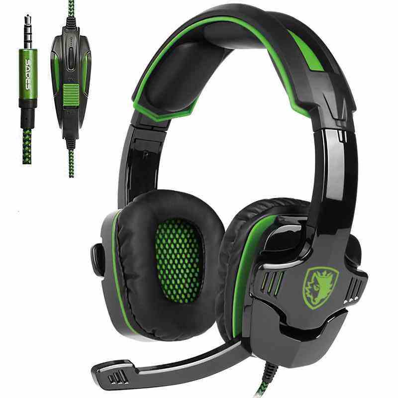 LeGoal Sades SA-930 Casque PS4 Gaming headsets head set wired earphone Headphones with microphone