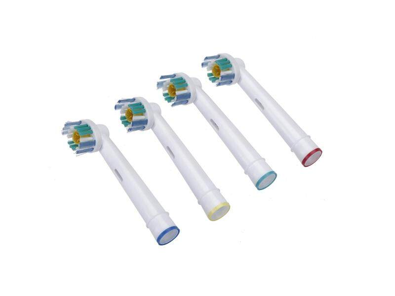 4pcs Soft Bristles Rotary Electric Toothbrush Heads Replacement Hygiene - intl
