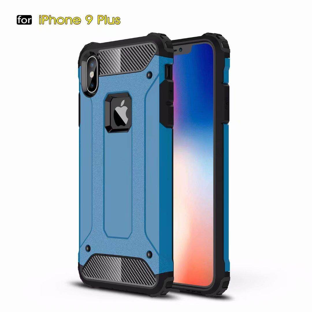 Product details of Phone Case Silicone Cover Shockproof Hard Tough Rubber Dual Layer Armor for Apple iPhone XS Max