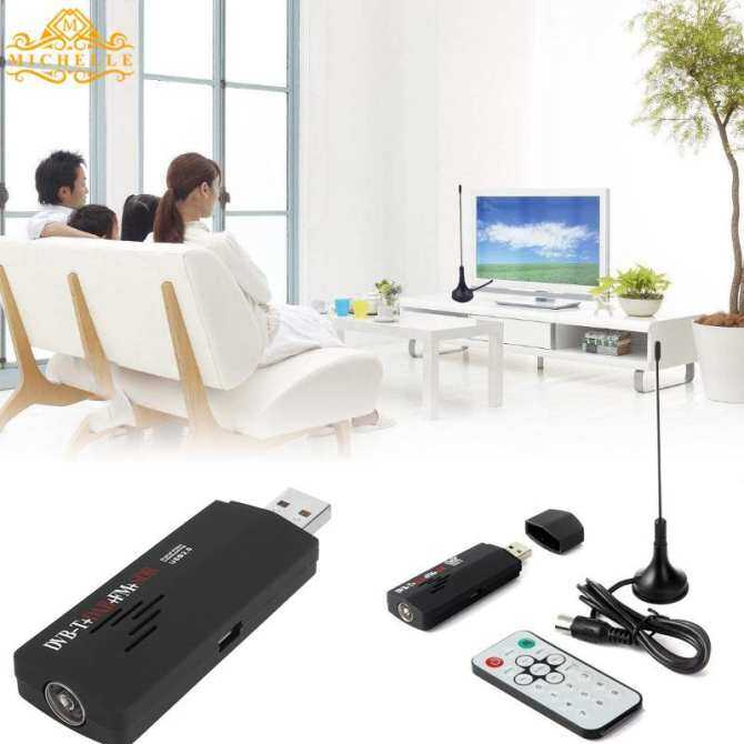 Digital Usb Fm Dab Dvb-T R820t Sdr Hdtv Stik Tv Penerima Saluran Dengan Antena By The Wangda8 Shop.