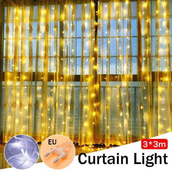3 M 304 LED Trắng Ấm Sổ Dây Cổ Tích Đèn Quà Giáng Trang Trí Lễ Cưới