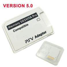 V5.0 SD2VITA PSVSD Pro Adapter for PS Vita Henkaku 3.60 Micro SD Memory Card