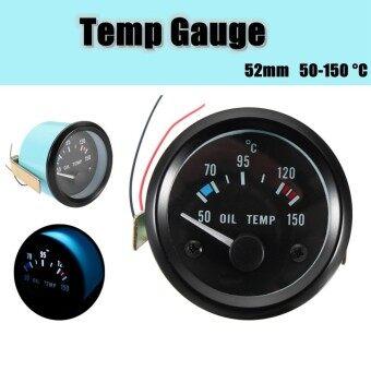 """2"""" 52mm 12V Car Auto Universal 50-150 °C Oil Temp Temperature Gauge Meter"""