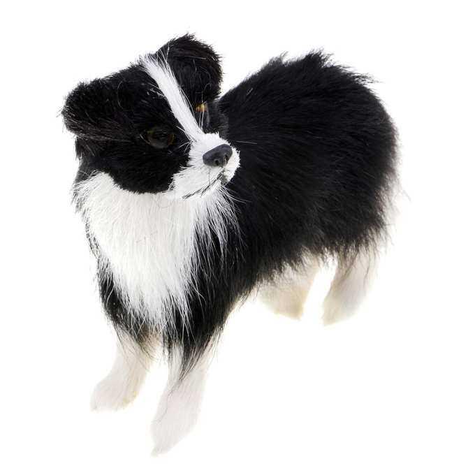 BolehDeals Simulation Stuffed Plush Shepherd Dog Toy for Kids Birthday Gift Baby Doll