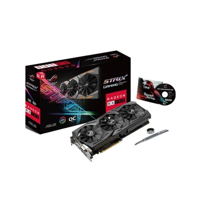 WOND ASUS ROG STRIX AMD Radeon RX 580 Đầu Phiên Bản 8 GB GDDR5 RGB Đồ Họa Video Thẻ