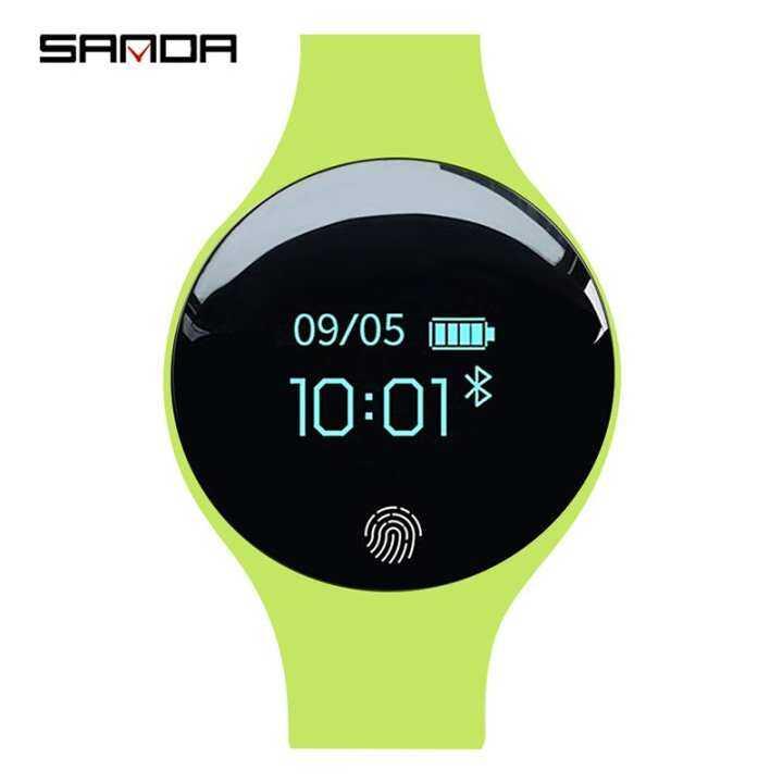 Sanda SD01-1 Remaja Mahasiswa Fashion Smartwatch Monitor
